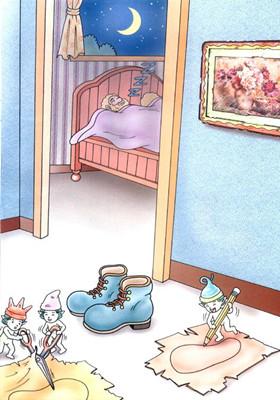 胎教故事《小精灵和鞋匠》 爸爸睡前读的