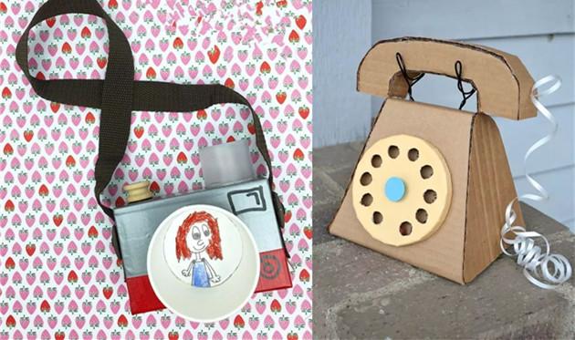 创意手工:旧纸盒可以做什么? 废物利用后孩子