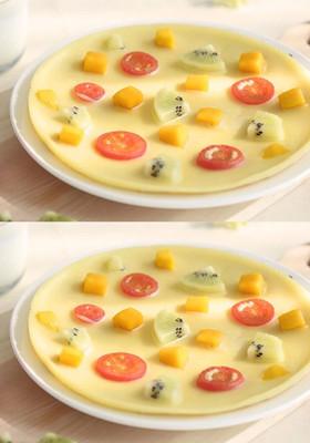 儿童早餐食谱:水果披萨做法 在家轻松做