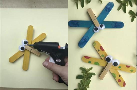 创意手工:冰棒棍可以做什么? 居然能变成这么多好玩的手工作