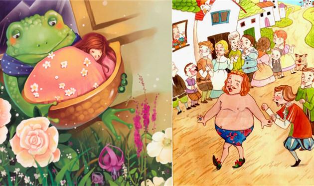 安徒生童话故事 精选童话故事简介 经典童话故事100篇