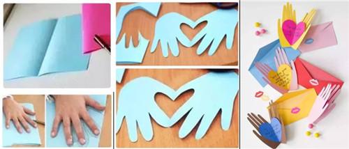 幼儿园母亲节环创和亲子活动就做这些手工!图片超赞!老师收(2)