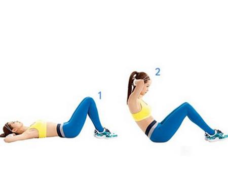 仰卧起坐的正确做法是什么 及时改正姿势会带来这些好处