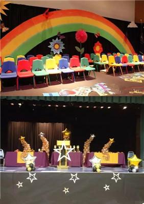 幼儿园六一舞台布置:创意舞台背景 六一舞台设计效果图片