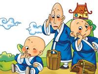 儿童故事《三个和尚》儿童睡前短故事简单经典儿童故事100篇
