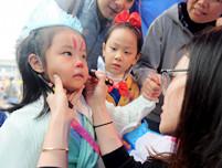 六一儿童节活动策划 儿童化妆步骤及注意事项