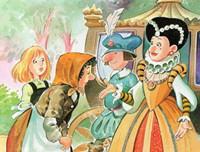 格林童话《三个纺纱女》经典童话故事100篇 睡前故事