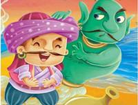 一千零一夜《渔夫和巨人》经典童话故事100篇