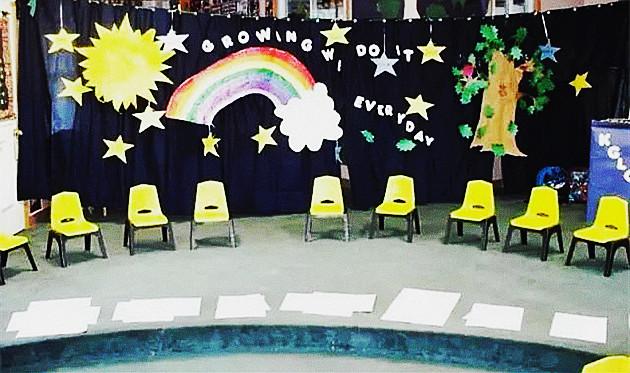 幼儿园大班毕业晚会舞台设计 一起留下最创意的毕业照