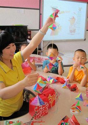 端午节手工制作《包粽子》幼儿园端午节简易手工教案