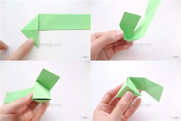 幼儿园端午节手工作品 手工粽子折法简单好看一秒就会