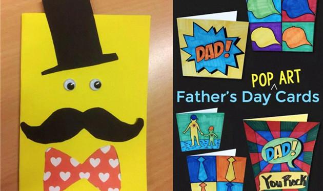 父亲节贺卡图片手工 创意有趣的父亲节贺卡简单制作