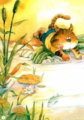 幼儿园防溺水安全教育《小猫落水》 托班防溺水教案