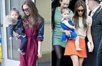 妈妈越时髦孩子越自信 王菲的两个女儿就是个例子