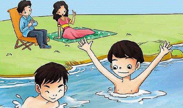 幼儿园安全平安彩票开奖网教案《防溺水》暑假防溺水教案