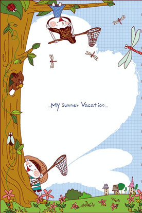 托班語言教案《夏天的聲音》幼兒園暑假