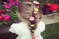 18款给女儿扎头发图片 款款惊艳动人包你喜欢