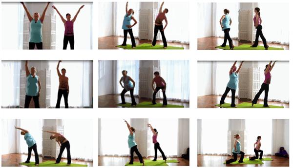 孕后期锻炼顺产_孕晚期瑜伽动作图解 顺产开胯孕妇瑜伽体式(2)
