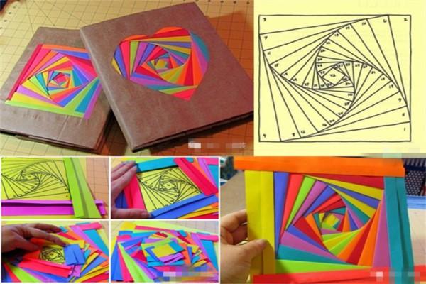 怎样包书皮好看图解 简单好看包书皮的方法图解教程(3