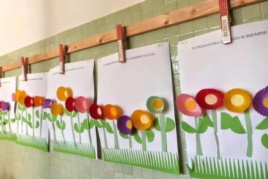 幼儿园教师节主题环创 教师节环创主题墙图片快拿去(4