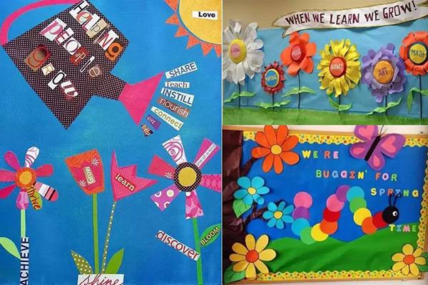 幼儿园春季环创主题墙 这波环创设计实在太美了