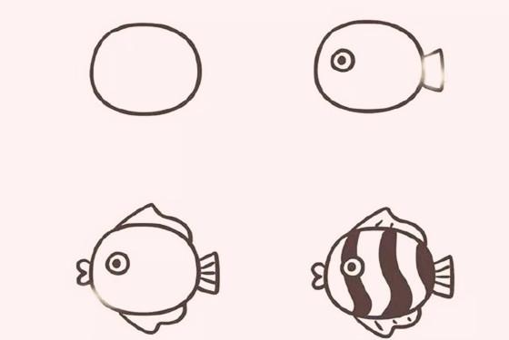 主页 教育 幼儿园教案 大班教案 > 卡通鱼简笔画画法  相信小朋友都